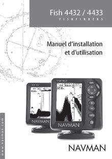 Notice Fishfinder Navman  Fish 4433