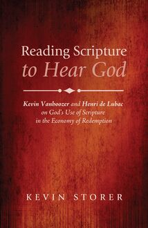 Reading Scripture to Hear God