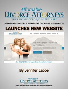 Affordable Divorce Attorneys Group of Wellington Launches New Website