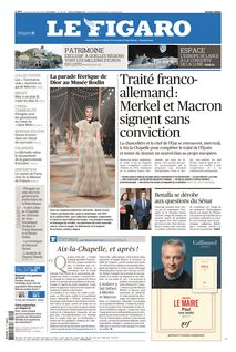 Le Figaro du 22-01-2019
