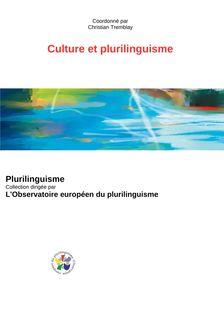 CULTURE ET PLURILINGUISME - Coordination Christian Tremblay