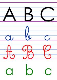 Outils pour la classe – Affichages fonctionnels - L'alphabet