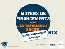 L'entreprise sociale : les moyens de financement