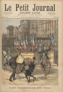 LE PETIT JOURNAL SUPPLEMENT ILLUSTRE  N° 67 du 05 mars 1892