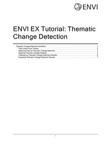 ENVI EX Tutorial