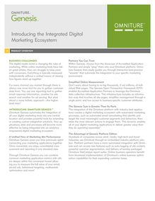 Introducing the Integrated Digital Marketing Ecosystem