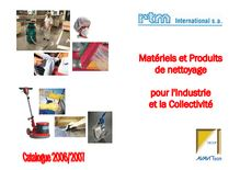 RTM international - Catalogue produits