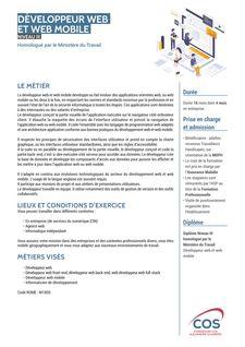 Développeur web et web mobile -