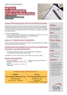 Accès à la qualification : Métiers du secrétariat et de la bureautique -