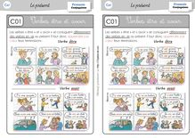 Orthographe / Grammaire / Vocabulaire CE1 – Préparations de dictées et leçons - Leçon être et avoir