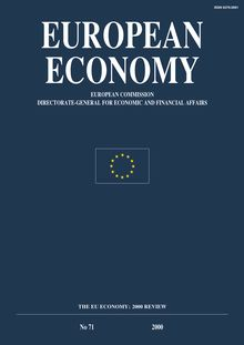 "EE - OUVRAGE DE BASE - N. 71 ""THE EU ECONOMY 2000 REVIEW"""
