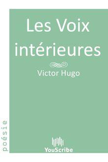 Les Voix intérieures de Victor Hugo - fiche descriptive