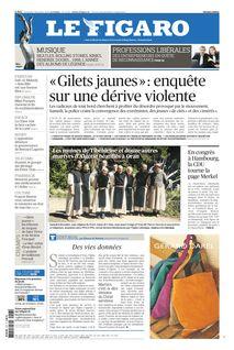 Le Figaro du 07-12-2018 - Le Figaro