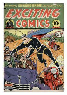 Exciting Comics 038 de  - fiche descriptive