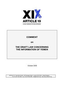 yemen-comment-on-the-draft-law-concerning-the-information-of-yemen