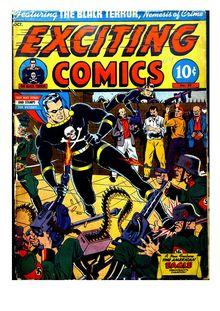 Exciting Comics 029 -JVJ de  - fiche descriptive