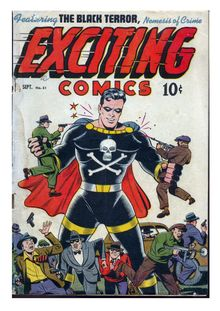 Exciting Comics 051 (Miss Masque debut)-redit de  - fiche descriptive