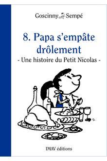 Papa s'empâte drôlement de Jean-Jacques Sempé, René Goscinny - fiche descriptive
