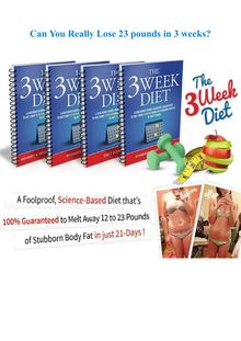 Can You Really Lose 23 pounds in 3 weeks?