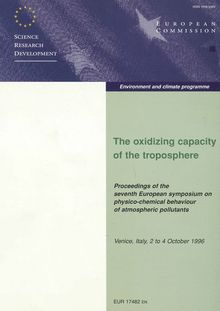 The oxidizing capacity of the troposphere