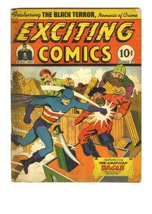 Exciting Comics 022 (paper+2fiche)-c2c de  - fiche descriptive