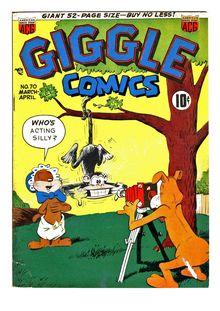 Giggle Comics 070 de  - fiche descriptive