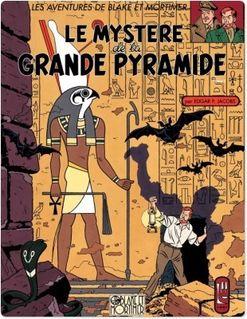 Blake et Mortimer - Tome 4 - Mystère de la Grande Pyramide T1 (Le) - Edgar P. Jacobs