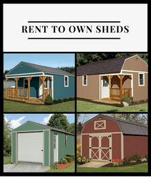 Rent to Own Sheds in Texas