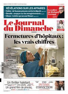 Le Journal du Dimanche du 10-02-2019 - Le Journal du Dimanche