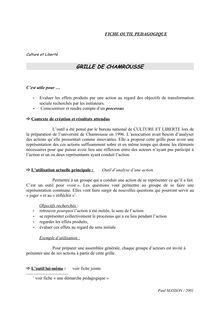 La grille de Chamrousse