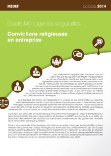 Convications religieuses