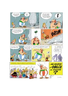 Planche teaser Asterix 2017