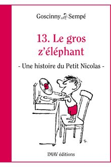 Le gros z'éléphant de René Goscinny, Jean-Jacques Sempé - fiche descriptive