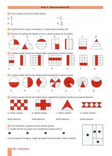 Chapitre N3 CM2 : Fractions : Fraction partage (1)