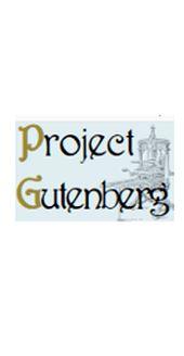 Porjet Gutenberg. Un gros site international de ressoruces libres de droit