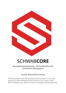 Invest Ethically - Schwabcore Management