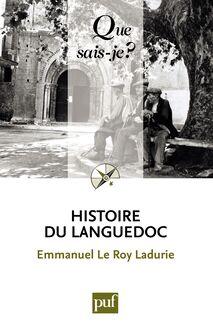 Histoire du Languedoc de Emmanuel Le Roy Ladurie - fiche descriptive