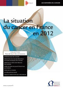 La situation du cancer en France en 2012