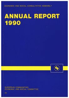 Annual report of the Economic and social consultative assembly 1990