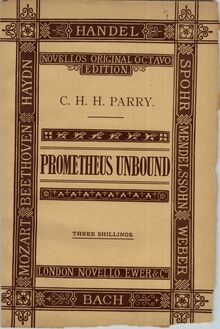 Partition Colour cover, Prometheus Unbound, Scenes from Shelley