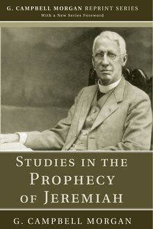 Studies in the Prophecy of Jeremiah