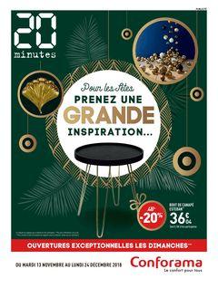 20 minutes Edition Nationale du 15-11-2018