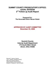 Preliminary Audit Report OfficeSvcs-OBM