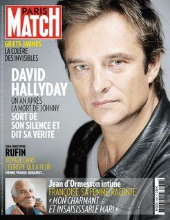 Paris Match du 22-11-2018 - Paris Match