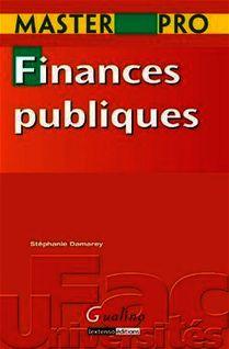 Master Pro. Finances publiques - Stéphanie Damarey