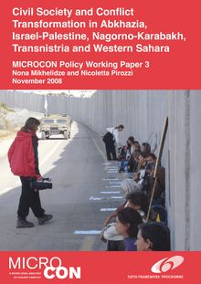 Civil Society and Conflict Transformation in Abkhazia, Israel  ...