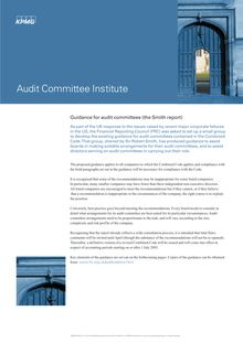 205060 Audit Co Guid- AC
