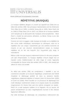 Minimaliste Synonyme définition et synonyme de : rÉpÉtitive (musique) - juliette