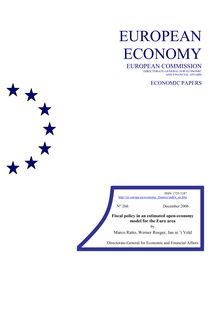 Fiscal policy in an estimated open-economy model for the Euro area