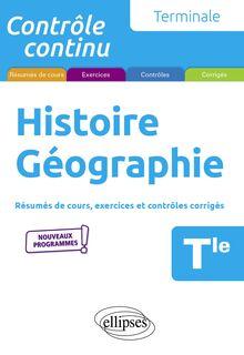 Histoire Géographie , Terminale , Nouveaux programmes